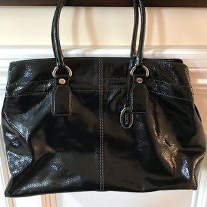 Tod's Black patent Leather bag